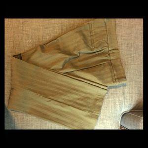 Olive toned  dress slacks